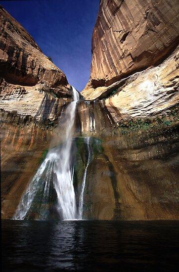 Lower Calf Creek Falls by Brian Hendricks