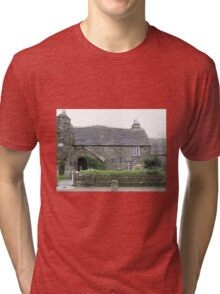OLD POST OFFICE - TINTAGEL CORNWALL Tri-blend T-Shirt