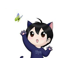 Yuzuru Hanyu chibi kitty by sendaid