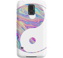 Rainbow Swirl Yin Yang Samsung Galaxy Case/Skin