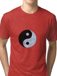 Holographic Yin Yang Tri-blend T-Shirt