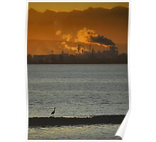 The Sun Is Setting On Civilization Poster
