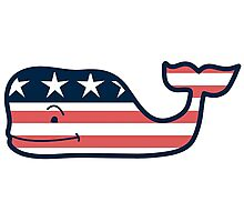 Vineyard Vines American Whale Photographic Print