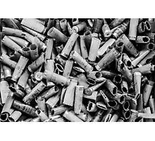 Sea of Shells #1 (Black & White) Photographic Print