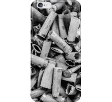 Sea of Shells #1 (Black & White) iPhone Case/Skin