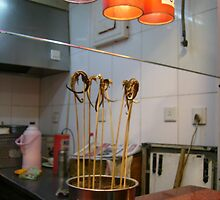 Odd skewers - Beijing snack markets by Jessica Bawden