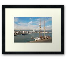 HMS Falken Framed Print