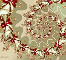 Love Blooms Spiral by KittyAnnStudio