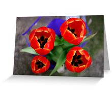 Flowers V Greeting Card