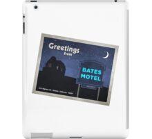 Greetings from Bates Motel! iPad Case/Skin