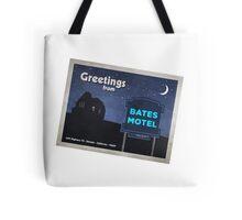 Greetings from Bates Motel! Tote Bag