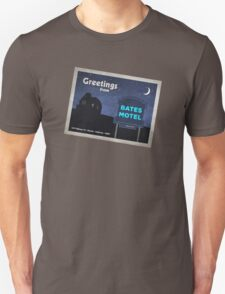 Greetings from Bates Motel! Unisex T-Shirt