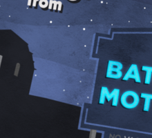 Greetings from Bates Motel! Sticker