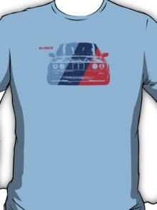 BMW 3 Series (E30) Grungy M stripe overlay T-Shirt