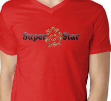 Super Star Mens V-Neck T-Shirt