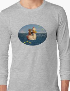 Tiny Teddy and Ducky's Voyage of Adventure Long Sleeve T-Shirt