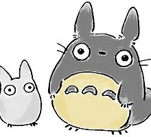 My Neighbour Totoro by sendaid