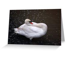 limbo swan Greeting Card