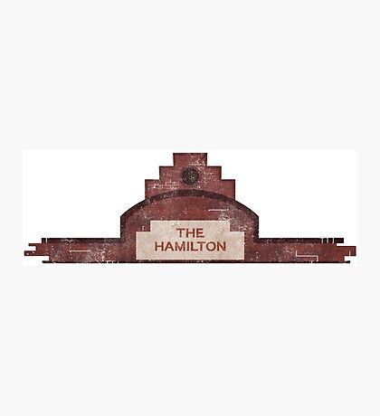 the hamilton building Photographic Print