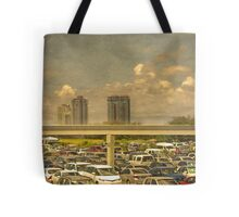 Theme Park Car Park Tote Bag