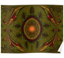 Art Nouveau - pattern VII Poster