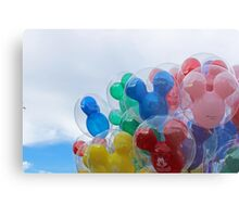 Main Street Disneyland Balloons Metal Print