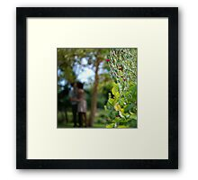 Stolen Kisses... Framed Print