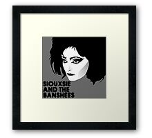 Siouxsie and the Banshees Framed Print