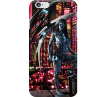 Robot Angel Painting 010 iPhone Case/Skin