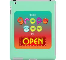 The Grope Zoo Is Open iPad Case/Skin