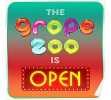 The Grope Zoo Is Open Poster