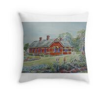 Truganina Explosives Reserve Keepers Quarters 1 Throw Pillow