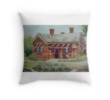 Truganina Explosives Reserve Keepers Quarters 2 Throw Pillow