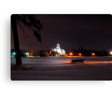 Colour of Night Canvas Print