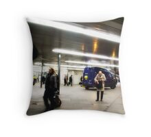 come on be a big boy, have a cigar (Kings Cross Station) Throw Pillow