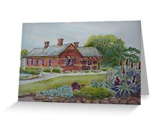 Truganina Explosives Reserve Keepers Quarters 3 Greeting Card