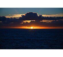 Sunrise @ Waverley Cemetery Photographic Print