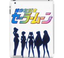 Sailor squad shadows iPad Case/Skin