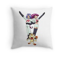 Team Rocket Throw Pillow