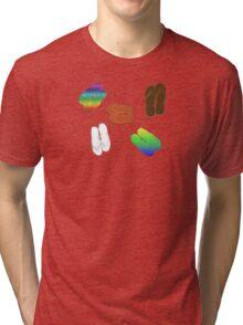 FLIP FLOPS Tri-blend T-Shirt
