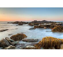Seascape at Sachuest Point Wildlife Refuge Photographic Print
