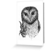 Peace Owl Greeting Card