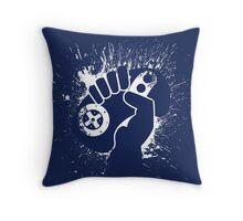 Sega Genesis Controller Splat Throw Pillow