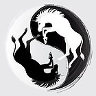 Unicorn Yin Yang  by LindseyDuce