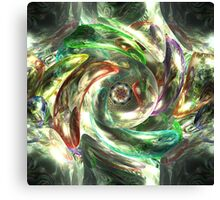 into the murky depths of madness Canvas Print