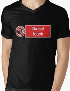 Do Not Touch Mens V-Neck T-Shirt
