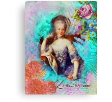 Let Them Eat Cake - Marie Antoinette  Canvas Print