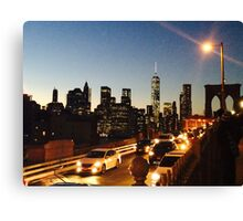 Brooklyn to Manhattan  Canvas Print