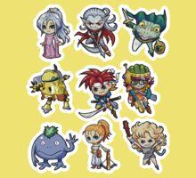 Chrono trigger chibi Kids Clothes
