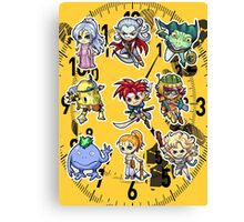 Chrono trigger chibi Canvas Print